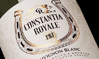Constantia Royale bottle label
